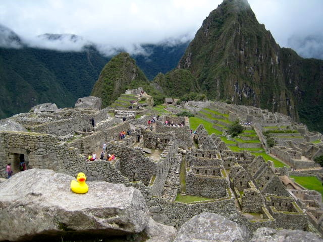 JB at Machu Picchu