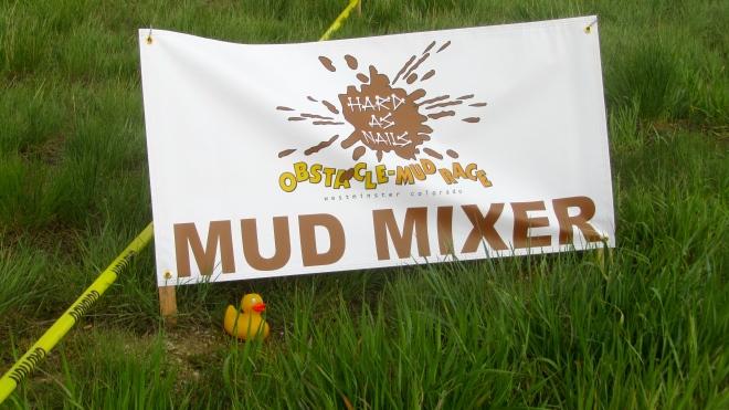 Yep--mud