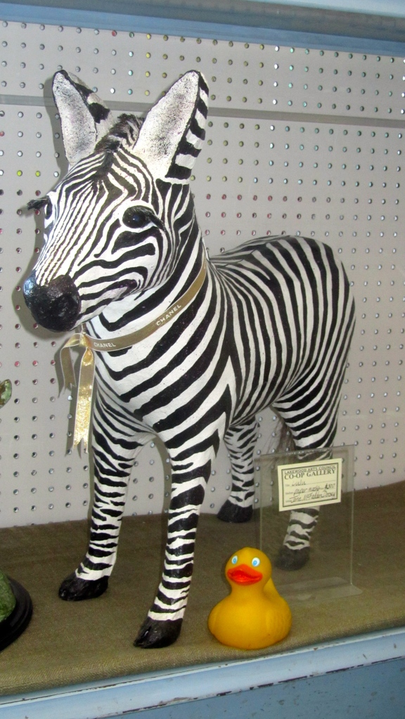 This zebra is so cute