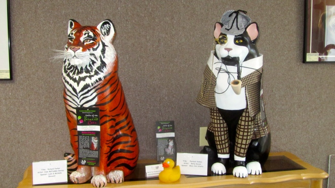 Richard Parker and friend