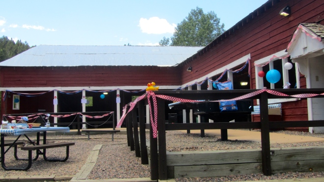 Decorated for an event
