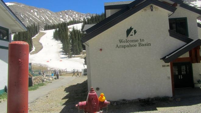 Ski in June