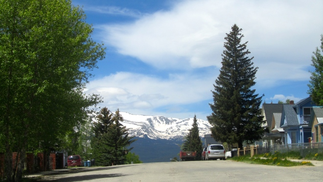Leadville, Colorado.  Isn't this beautiful?