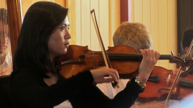 Concertmaster Greer