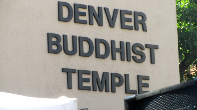 Buddhist Temple in Denver