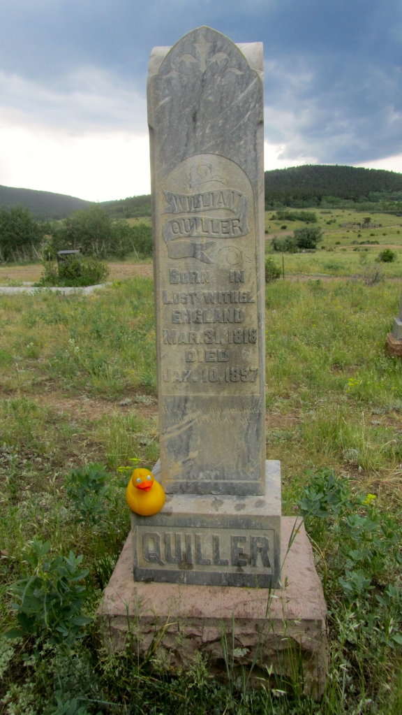 Headstone of William Quiller