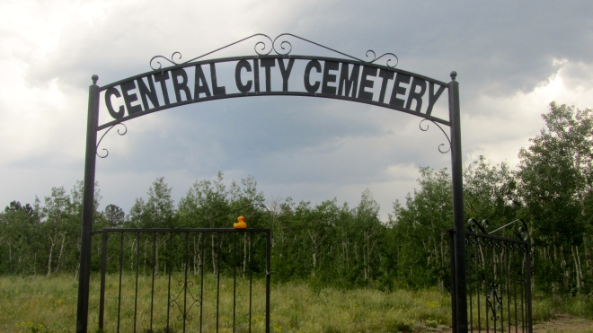 Old towns have interesting cemeteries