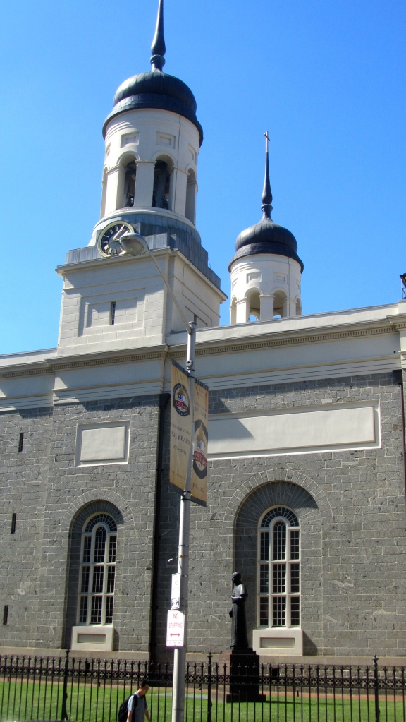 Visit the Baltimore Basilica soon.