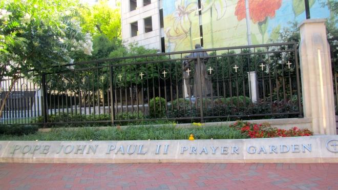 Pope John Paul II was here