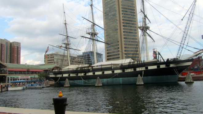 Visit Baltimore's Inner Harbor soon.
