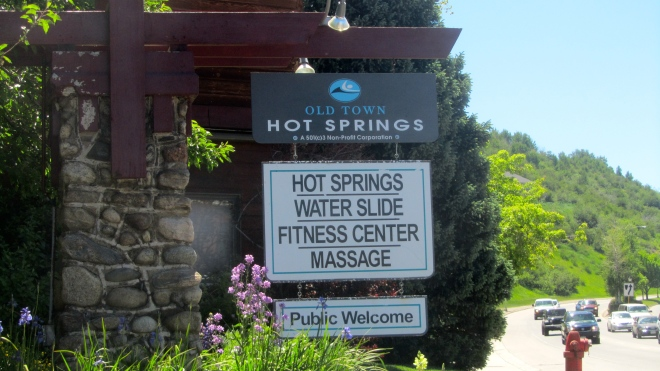 Hot Springs are welcome any time