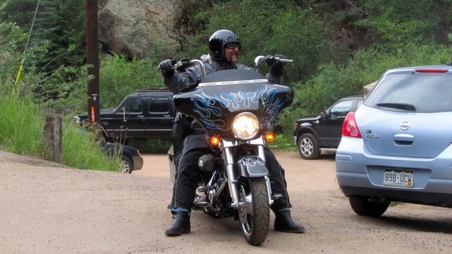 We like this biker