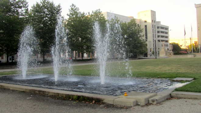 Fountains to soothe