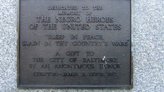Honoring Negro Heroes