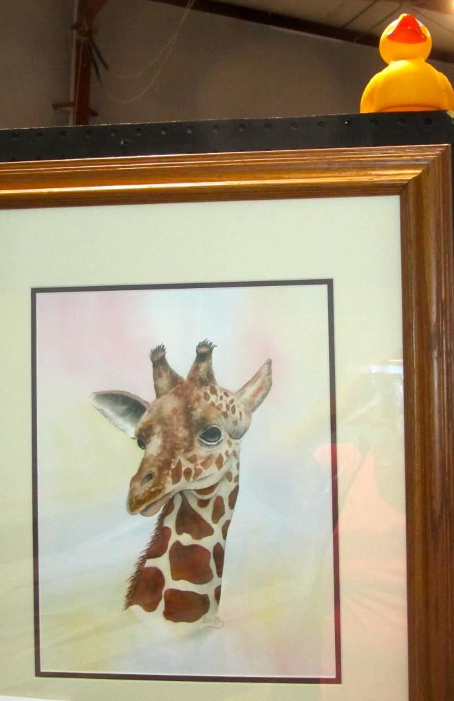 Giraffes are adorable
