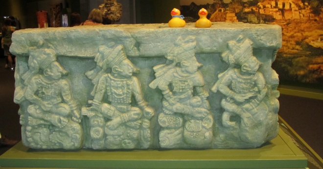 Mayan altar.  Used for special occasions
