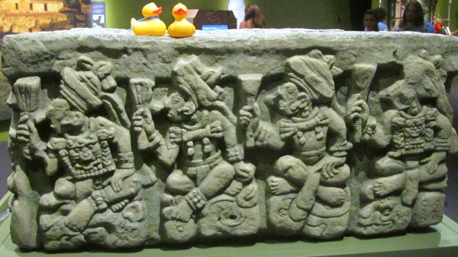 Another side of altar.  Human sacrifices?  Not duck sacrifices!