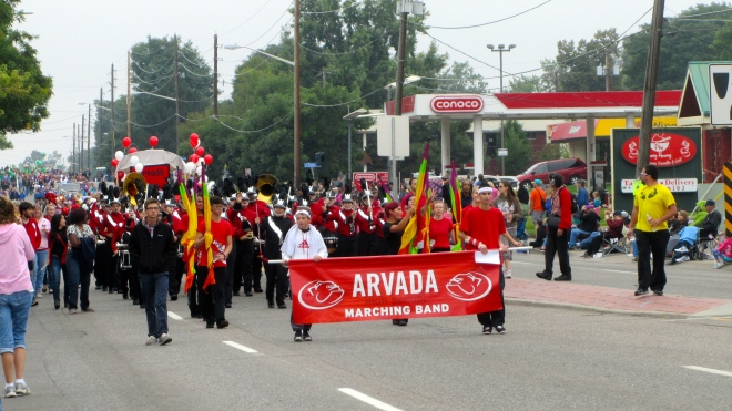 Arvada High School Marching Band