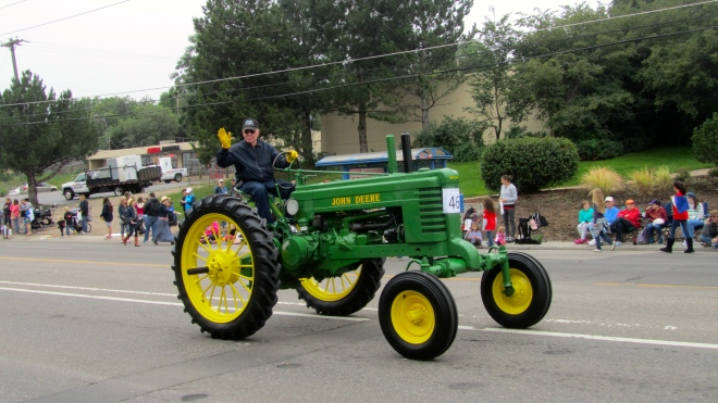 We love tractors!