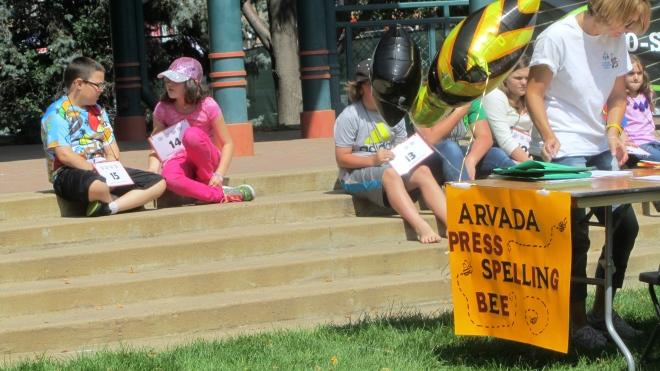 Ready to begin spelling bee