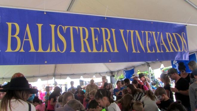 Balistreri Vineyards sponsored this event