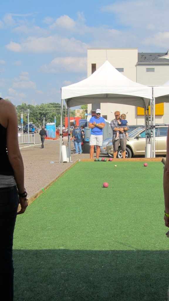 Our first Bocce tournament