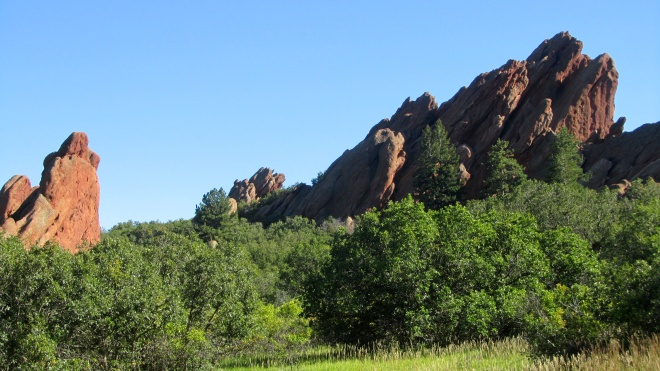 Beautiful rock formations