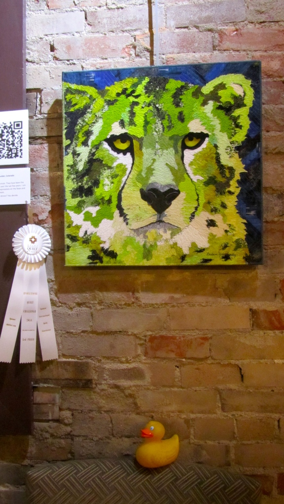 Third place by Barbara Yates Beasley