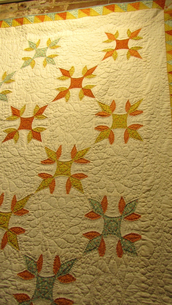Turkey Tracks quilt