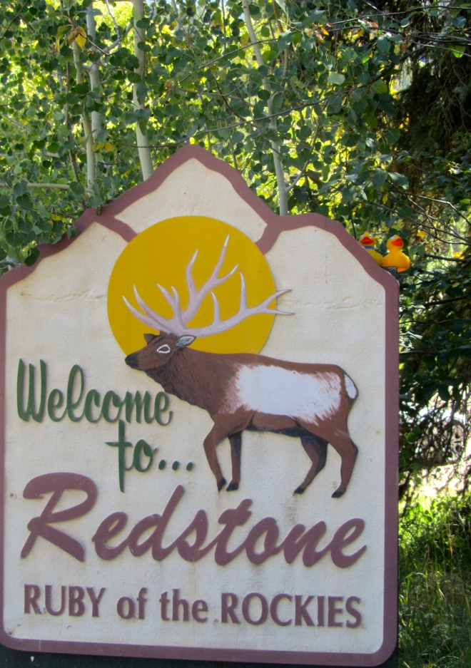 Redstone, Colorado.  The Ruby of the Rockies
