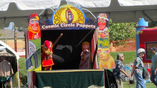A puppet show!
