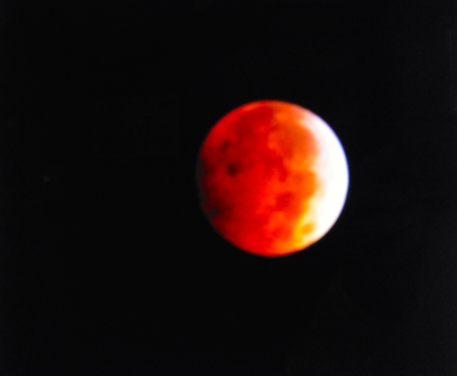 Blood Moon photo from internet