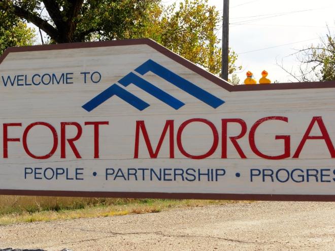 Fort Morgan in eastern Colorado