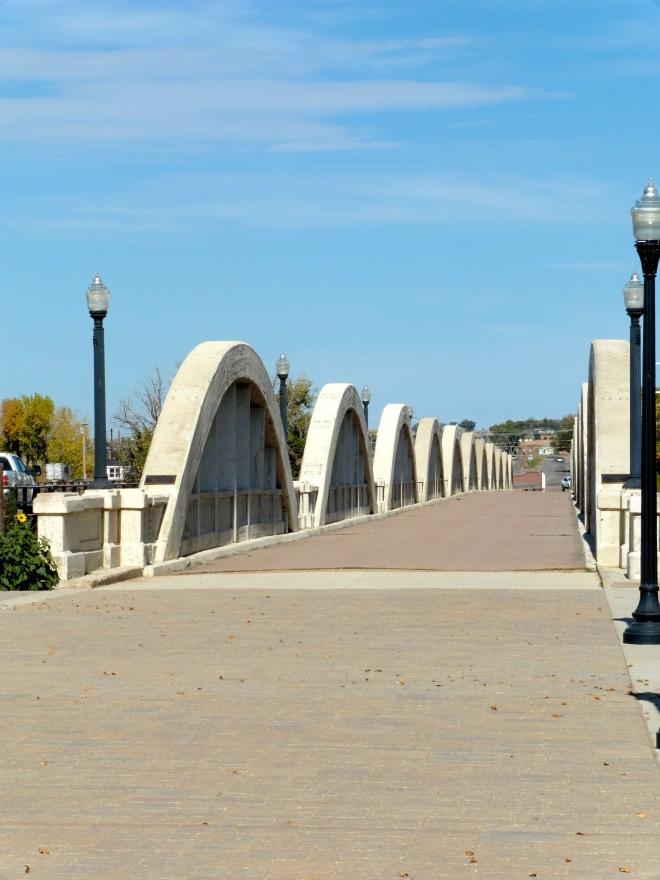 Great bridge and love the street lights
