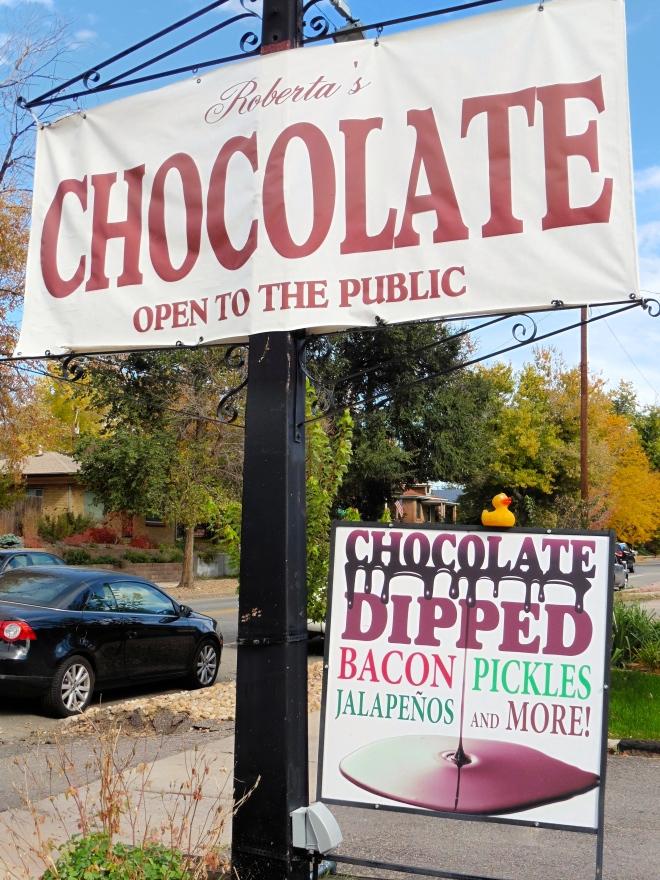 Roberta's Chocolates in Denver