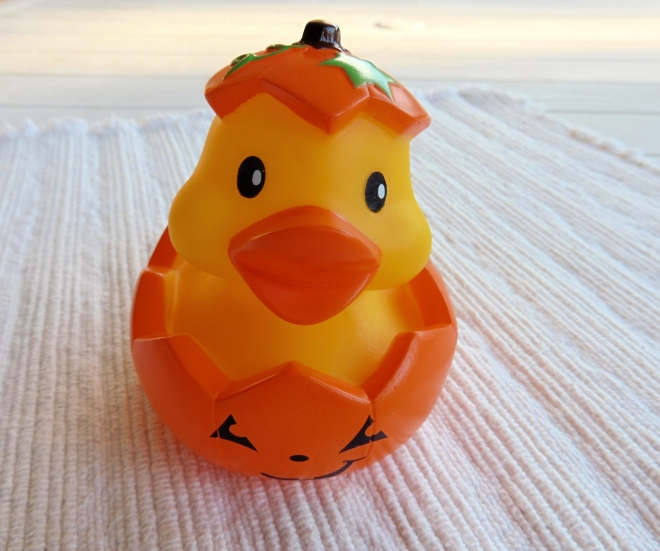 Pumpkin Duck joins the Duck family