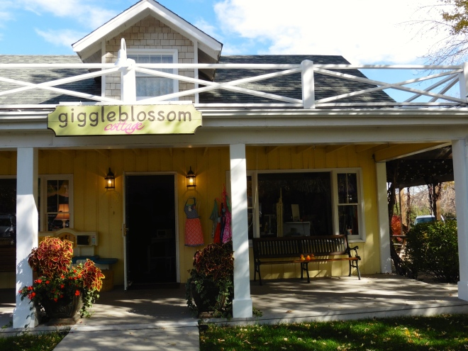 Giggleblossom Cottage is a great place to shop