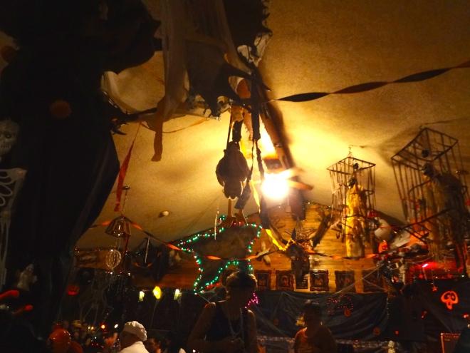 Halloween party in Chatanika, Alaska