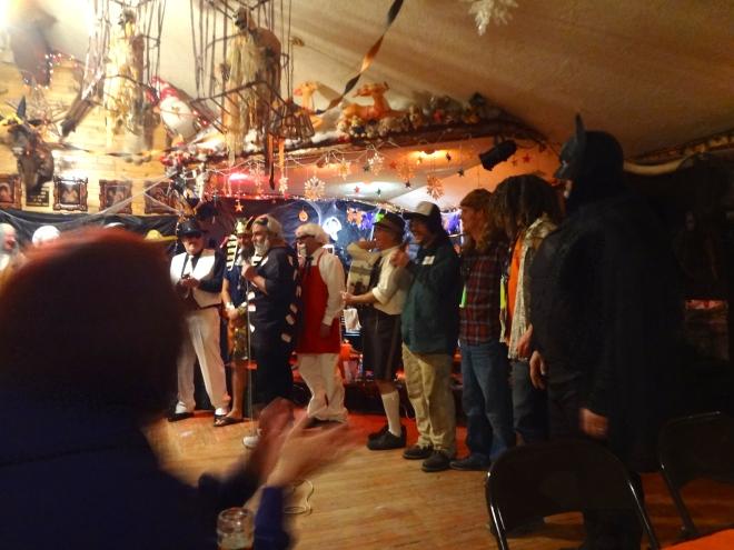 Halloween in Chatanika, Alaska