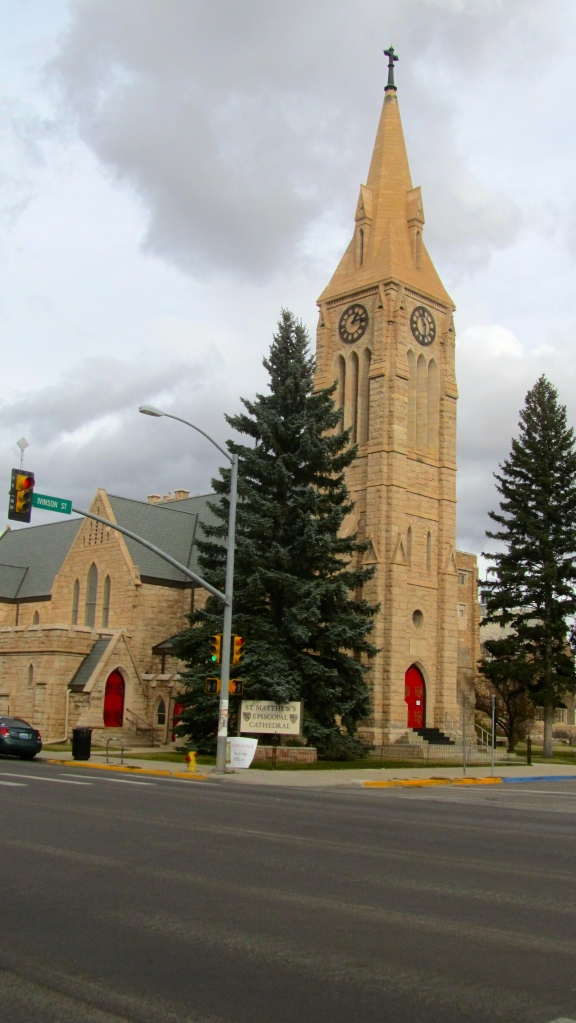 St. Matthew's Cathedral in Laramie, Wyoming