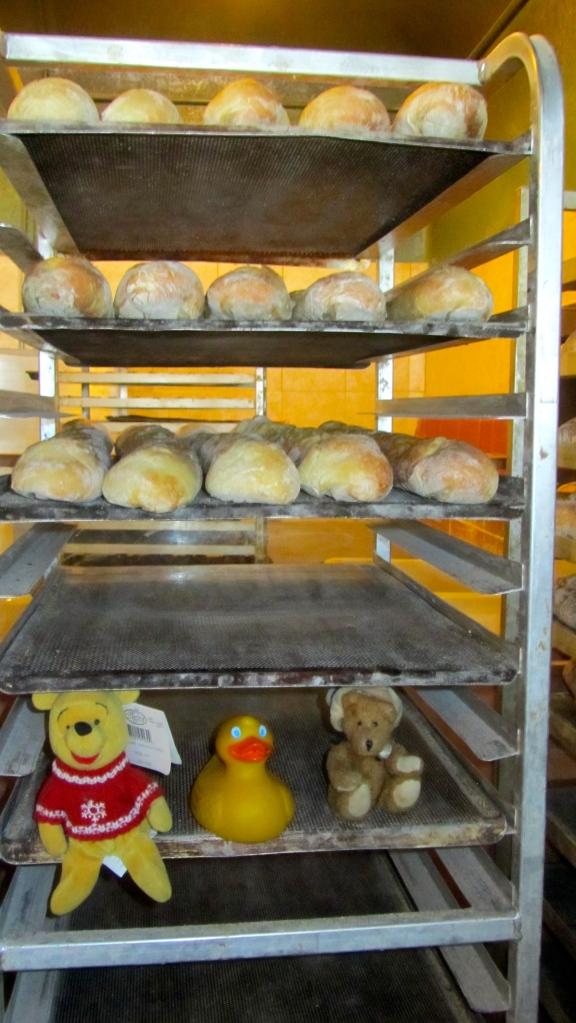 We love fresh bread