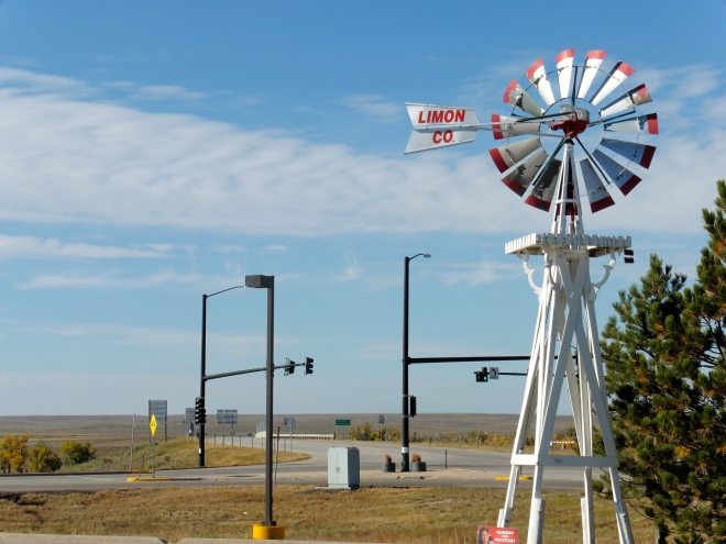 Limon on the eastern plains of Colorado