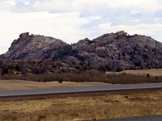 Vedauwoo Mountains in southern Wyoming