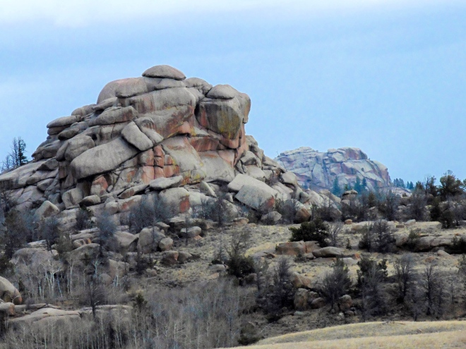 Vedauwoo Mountains in Wyoming