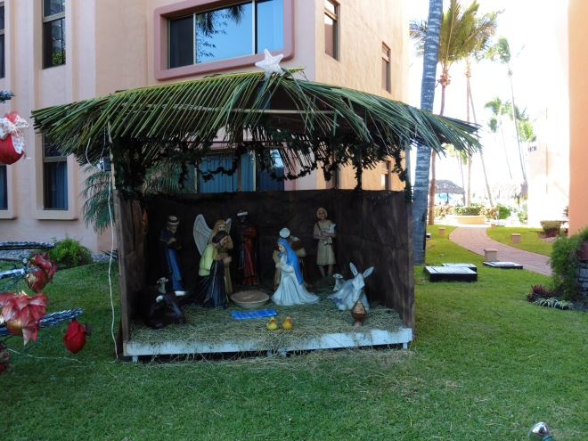 Nativity scene to remember the birth of Jesus