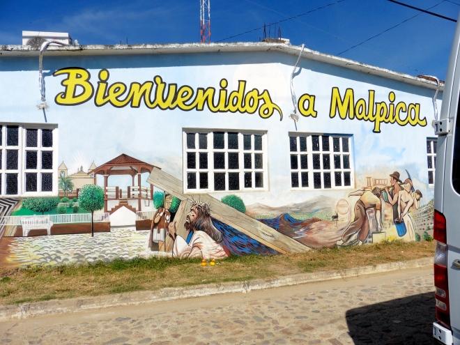 We are in Malpica, Mexico