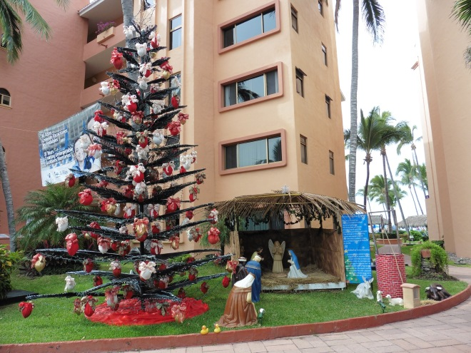 These decorations were made by Torres Mazatlan employees in 1992