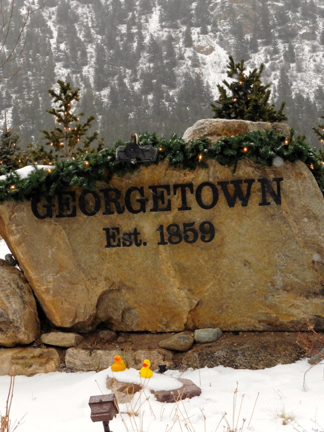 Georgetown, Colorado was an old mining town.
