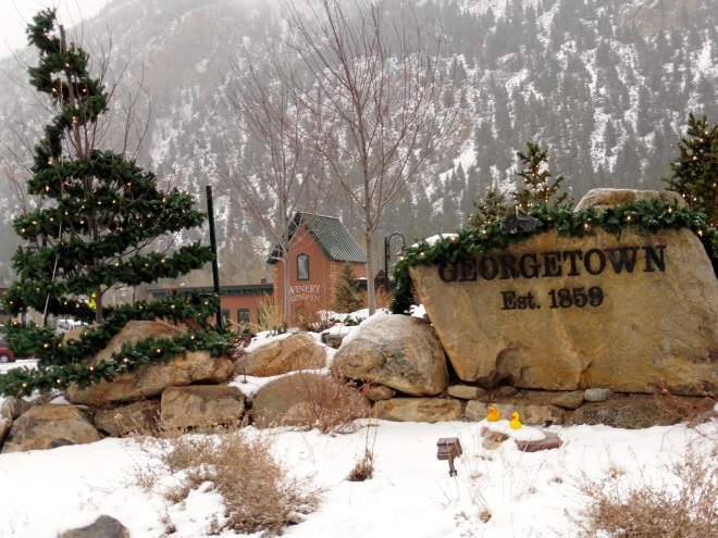 You will enjoy visiting Georgetown, Colorado.