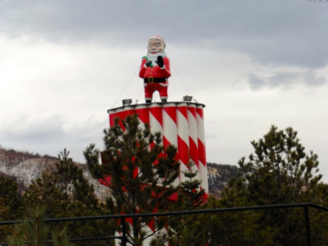 This ride is definitely a sign of Santa's North Pole